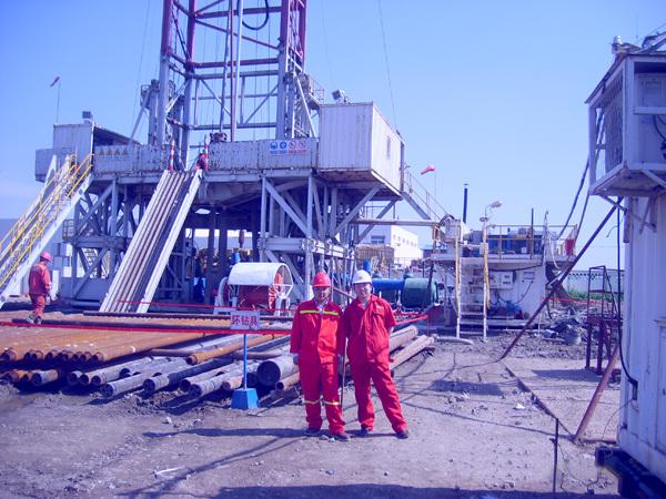 博奥员工赴中石化设备现场