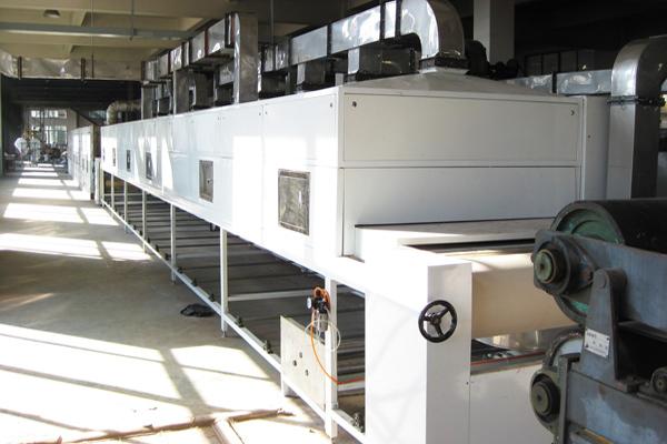 微波真空干燥设备干燥过程温度的三个干燥段