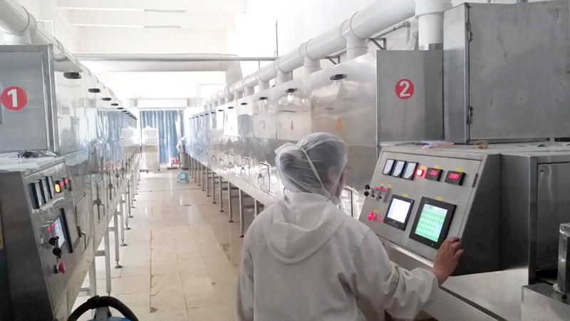 微波真空干燥设备连续干燥,提高生产经济效益