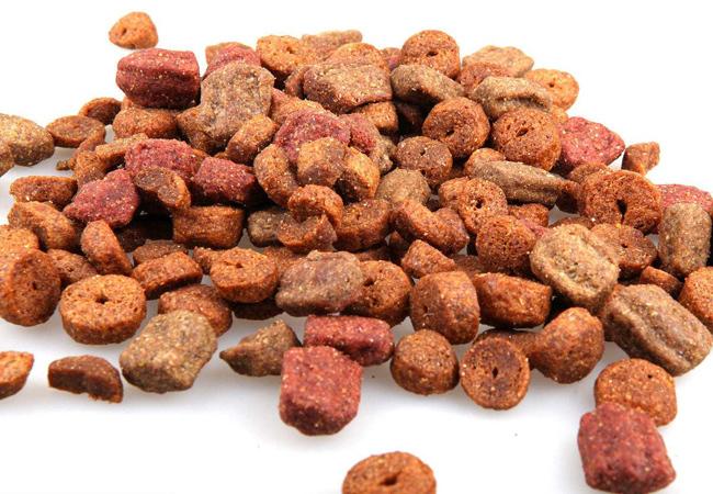 宠物食品微波进行烘干杀菌节能高效