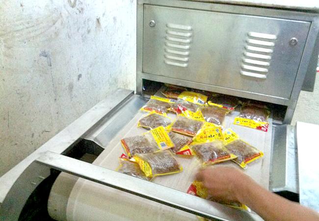 卤菜微波杀菌设备|腌菜微波杀菌专用设备图片