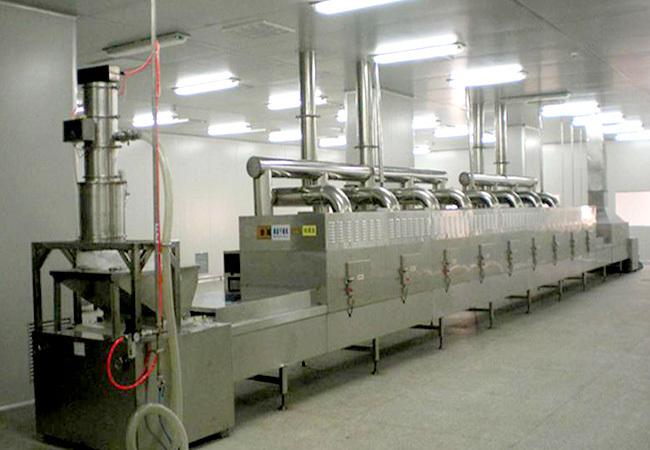 微波真空干燥设备在中药浸膏干燥中的应用