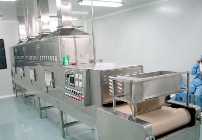 中药材微波烘干设备推进药企工业改革,提升效率