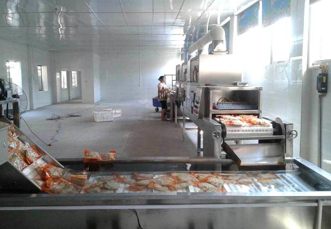 微波干燥技术对食品调味品行业促进良好发展