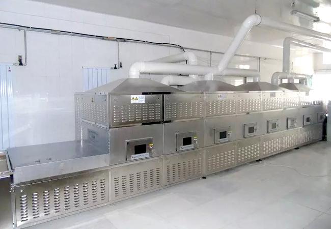 微波干燥设备生产过程中发热的原因