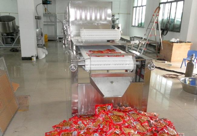 微波干燥机在食品加工领域的应用